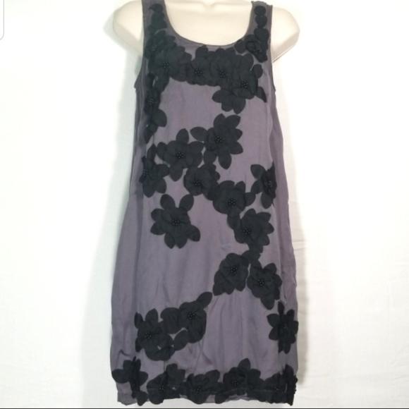 Ark & Co Dresses & Skirts - Ark & Co. | Dress with Black Flower Overlay NWT